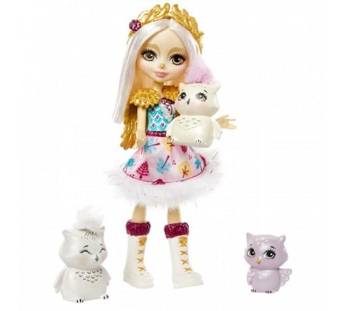 """Детскиймагазин в Кишиневе в Молдове enchantimals gjx46 Набор с куклой """"Семья Белой Совы Одель"""""""