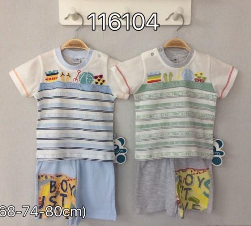 Одежда для малышей в Молдове twetoon baby 116104 Комплект летний (шорты и футболка)