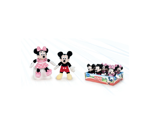 play by play 760016428 minnie/mickey mouse (в асс. 2) 12 см