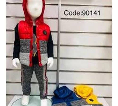 Одежда для малышей в Молдове agucuk & agumini 90141 Костюм для мальчика 3 ед.  (6 -24 мес.) в асс.