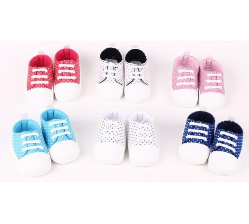 Одежда для малышей в Молдове mini damla 42123 Пинетки-кеды в асс.