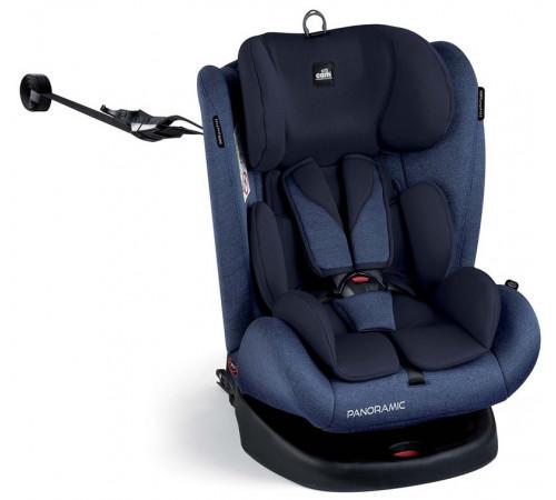 cam Автокресло panoramic isofix s168/162 гр. 0+/1/2/3 ( 0-36 кг.) синий