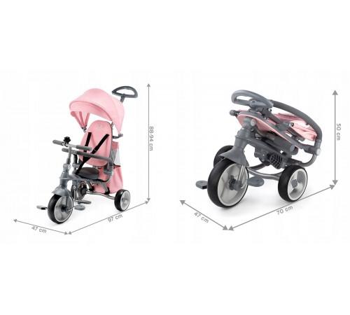 kinderkraft Трицикл 4-в-1 jazz roz