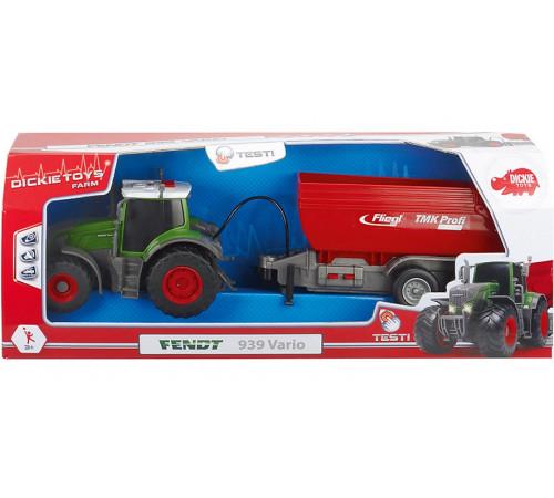"""dickie 3737002 Трактор """"fendt"""" со светом и музыкой"""