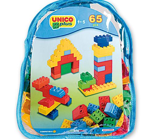 androni giocattoli 8555-0000 Конструктор в рюкзаке (50 дет.)