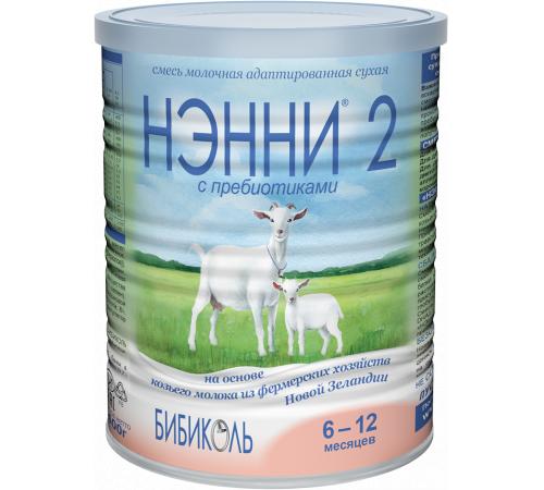 """Нэнни """" 2 с пребиотиками"""" (6-12 м.) 400 гр."""