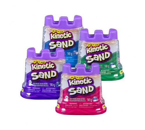 "Детскиймагазин в Кишиневе в Молдове kinetic sand 6035812 Кинетический песок ""single pack"" в асс."