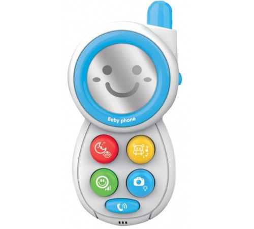"baby mix hs-0512 blue jucarie interactiva ""telefon"""