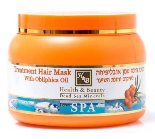 health & beauty Маска для всех типов волос с облепиховым маслом (250 мл.) 843274/38157