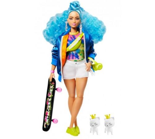 "Jucării pentru Copii - Magazin Online de Jucării ieftine in Chisinau Baby-Boom in Moldova barbie grn30 papusa barbie ""extra"" cu par albastru"