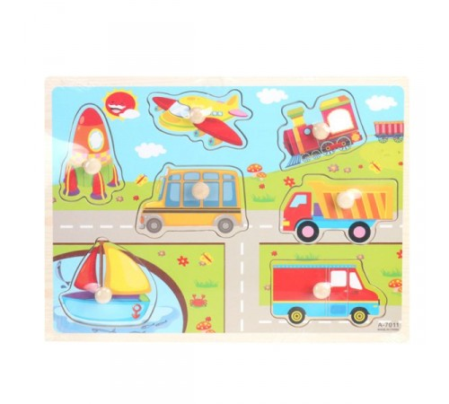 Jucării pentru Copii - Magazin Online de Jucării ieftine in Chisinau Baby-Boom in Moldova op РЕ06.34 puzzle din lemn