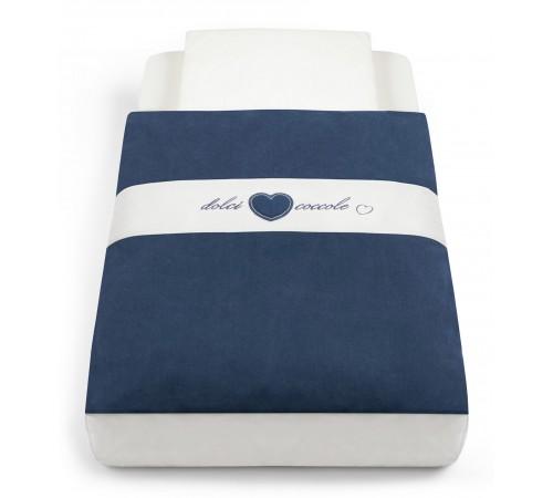 cam Набор постельного белья для колыбели cullami 146 синий