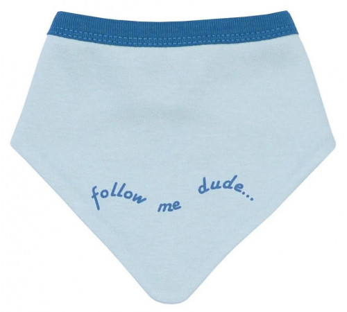 "veres 109-1.93 salopetă-bandana ""follow me"" albastru"