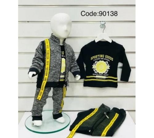 Одежда для малышей в Молдове agucuk & agumini 90138 Костюм для мальчика 3 ед.  (6 -24 мес.) в асс.