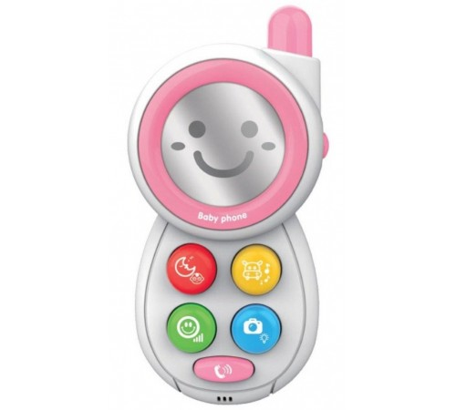 "baby mix hs-0513 pink jucarie interactiva ""telefon"""