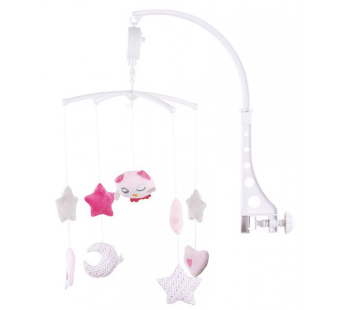 "Jucării pentru Copii - Magazin Online de Jucării ieftine in Chisinau Baby-Boom in Moldova chipolino mils02111pc carusel de pluș ""pui roz"""