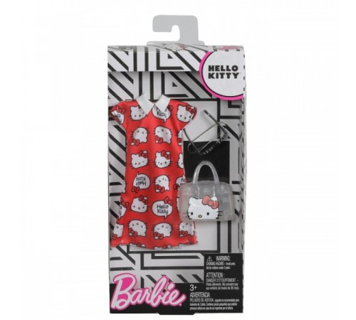 """barbie fyw81 Набор одежды """"Стильные принты"""" (в асс.)"""