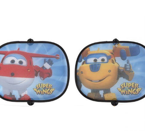 color baby 77043 Зашитная шторка от солнца superwings