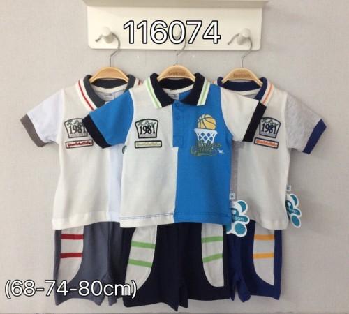 Одежда для малышей в Молдове twetoon baby 116074 Комплект летний (шорты и футболка)
