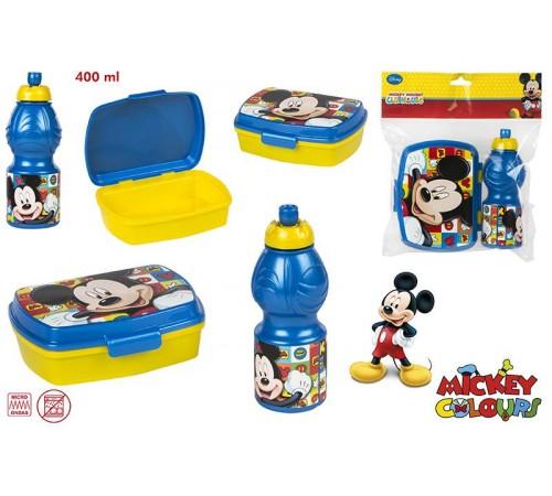 color baby 76842 Набор сэндвичницы +cпортивная бутылка 400мл mickey
