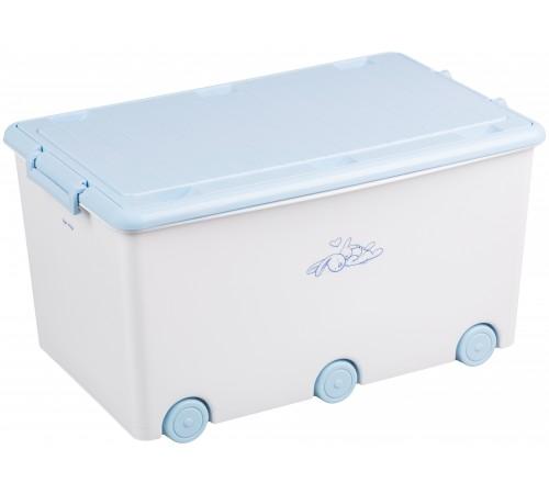 "tega baby container pentru jucarii ""bunny"" kr-010-103 alb"