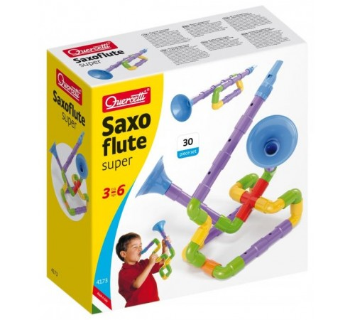 "Jucării pentru Copii - Magazin Online de Jucării ieftine in Chisinau Baby-Boom in Moldova quercetti 4173 constructor ""saxoflute"" (30 el.)"