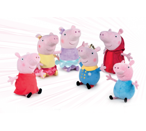 Детскиймагазин в Кишиневе в Молдове play by play 760015670 Свинка Пеппа/Джордж (в асс. 6) 27 см
