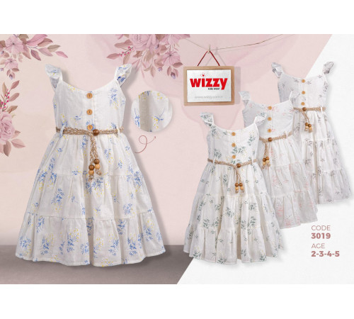 Imbracaminte pentru bebelușii in Moldova wizzy 3019 rochie (2-3-4-5 ani.) verde