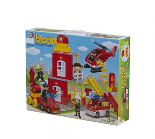 Jucării pentru Copii - Magazin Online de Jucării in Chisinau Baby-Boom in Moldova color baby  42890 constructor post de pompieri