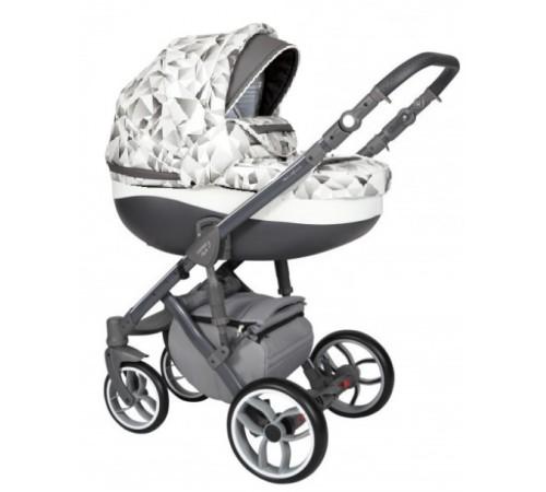 baby merc Коляска 2-в-1 faster 3 fiii/21a серый/чёрный