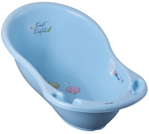"""tega baby Ванночка """"Лесная Сказка"""" ff-004-108 (86 см.) голубой"""