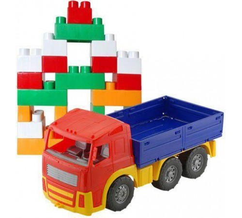 "colorplast 1722 camion cu constructor ""Акрос"" №3 in sort."