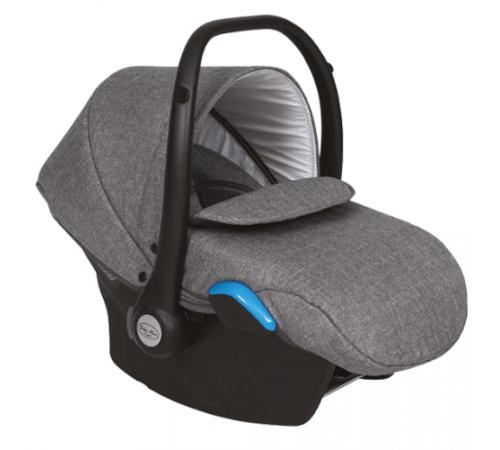 baby merc Автокресло kite fb/01b 0+(0-13 кг.) серый/чёрный