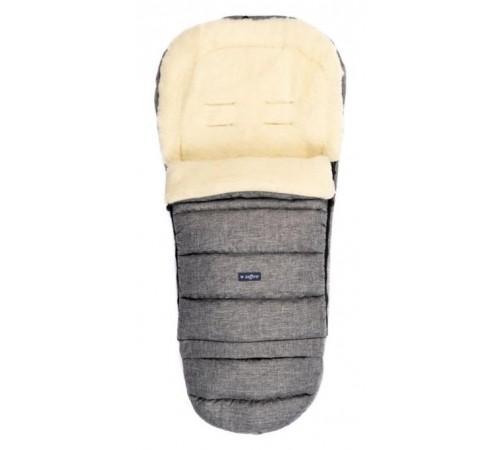 "womar zaffiro sac de dormit ""igrow wool melange"" gri"