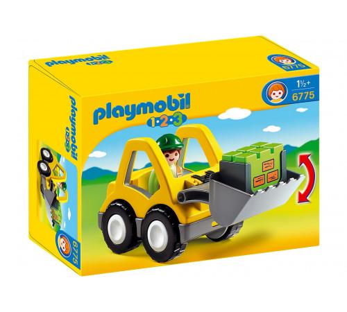 "playmobil  6775 Конструктор ""Экскаватор 1.2.3"""