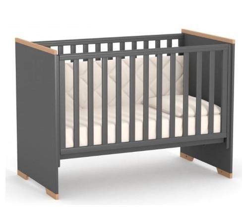 veres 09.3.1.37.16 Кроватка детская ЛД9 Сиэтл (тёмно-серый)