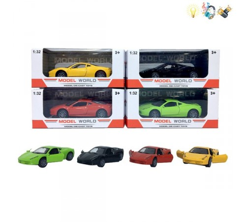Jucării pentru Copii - Magazin Online de Jucării ieftine in Chisinau Baby-Boom in Moldova op МЕ02.18 mașina metalica in sort.
