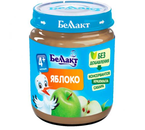 Детское питание в Молдове Беллакт Пюре из яблок 100 гр. (4 м. +)