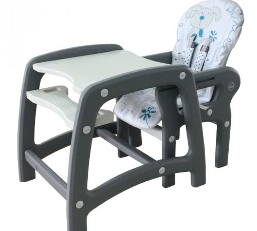 baby mix dc-01 Стульчик-трансформер серый