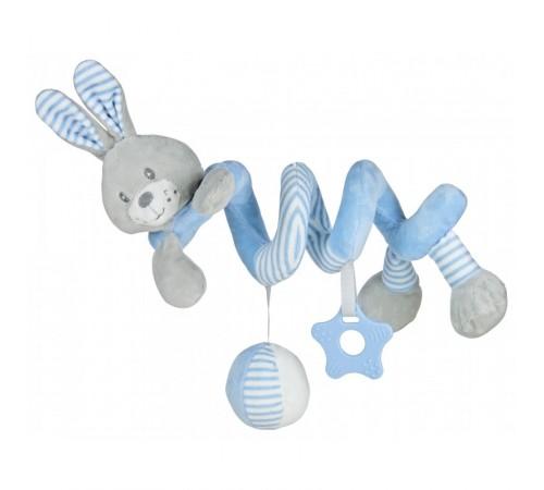 "baby mix stk-19391 br Спираль для коляски ""Кролик"" голубой"