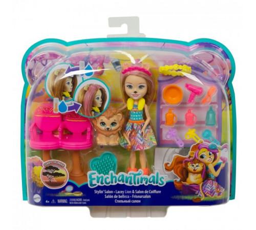 """enchantimals gtm29 Игровой набор с куклой """"Салон причесок"""""""