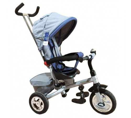 "baby mix ur-et-b30-3 Трицикл ""Тайфун"" серый"
