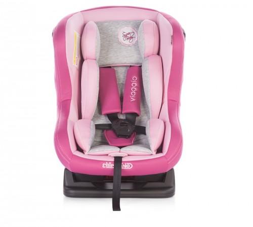 Детские коляски в Молдове chipolino Автокресло viaggio stkvi1602pa гр. 0+i (0-18 кг.) серо-розовый