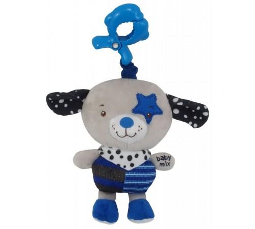 """Детскиймагазин в Кишиневе в Молдове baby mix tk/p/1212-eu00 Игрушка для путешествий """"Собачка"""" синий"""