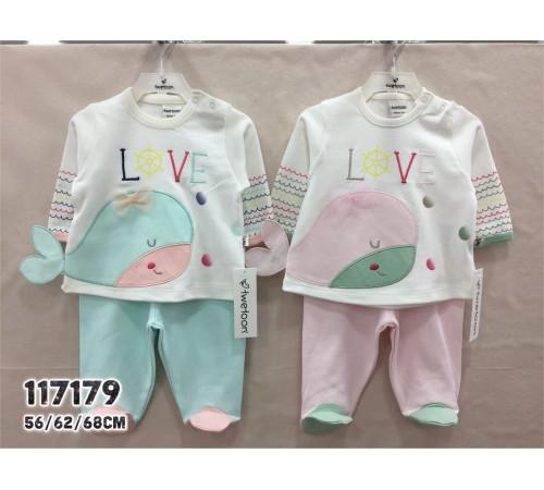 Одежда для малышей в Молдове twetoon baby 117179 Комплект 2 ед