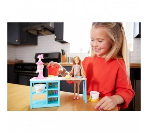 """barbie frh74 Набор с куклой """"Завтрак Стейси"""""""