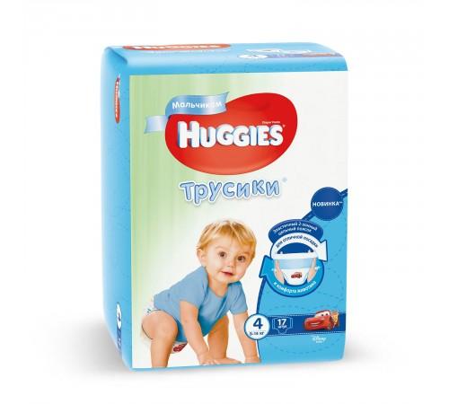 huggies chiloței boy 4 (9-14 kg.) 17 buc.