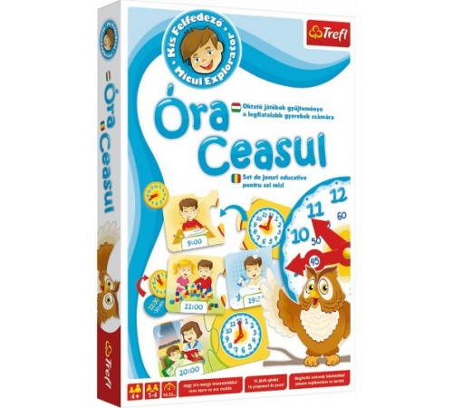 """Jucării pentru Copii - Magazin Online de Jucării ieftine in Chisinau Baby-Boom in Moldova trefl 01200 joc de masă """"ora casul"""" (ro)"""