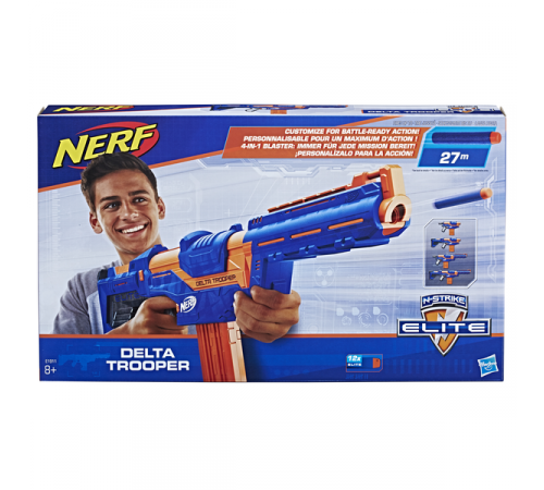 "nerf e1911 Бластер ""elite n-strike delta trooper"""