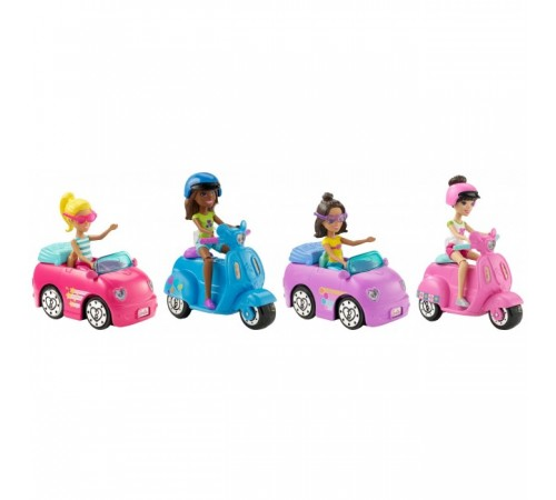 """Барби Кукла """"В движении"""" с транспортом (в асс) fhv76"""